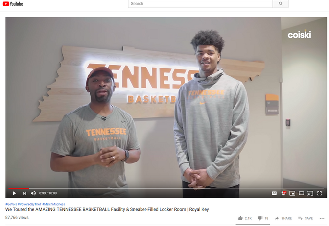 Fresh Blends @ Tennessee Basketball