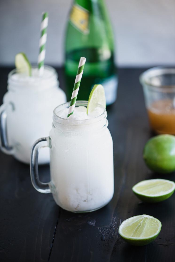 Coconut Lime Agua Fresca