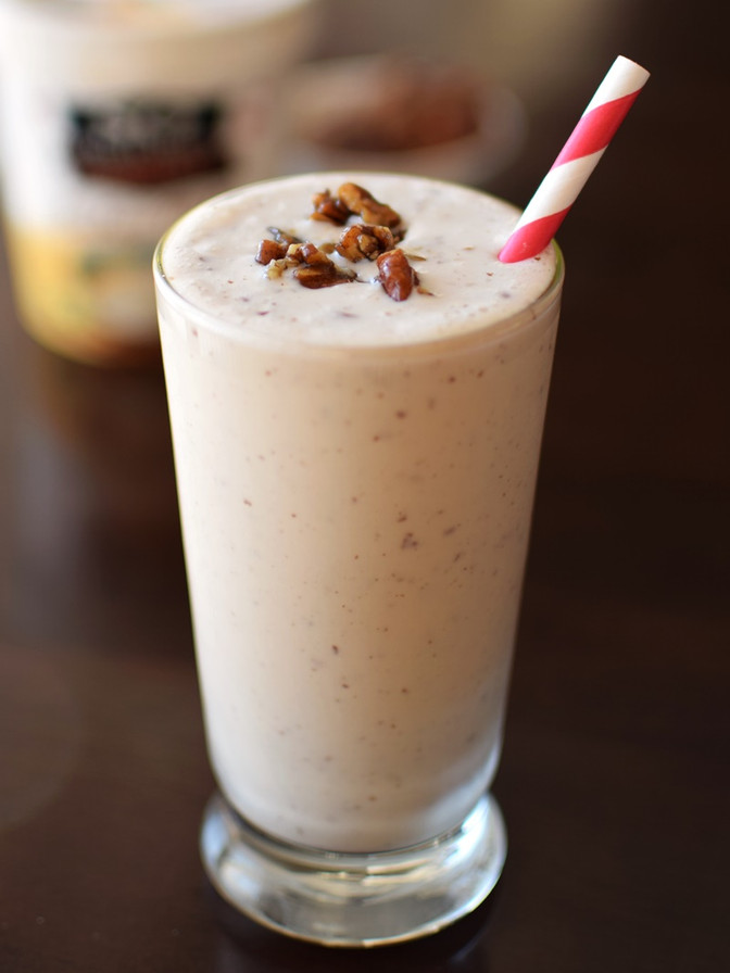 Maple-Butter Pecan Milkshake