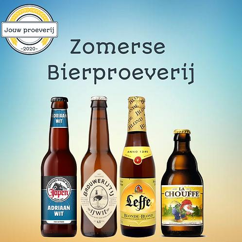 Zomerse bierproeverij