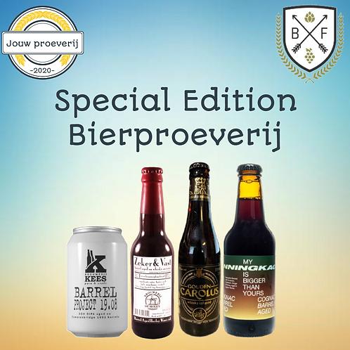 Bierfederatie special edition bierproeverij
