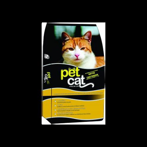 Ração Para Gatos Pet Cat Castrados Primor