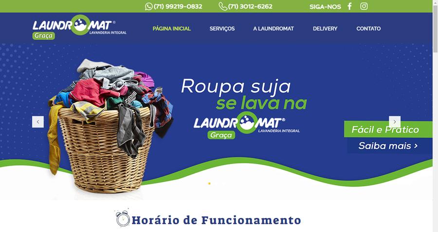 Lavanderia Laundromat em Salvador