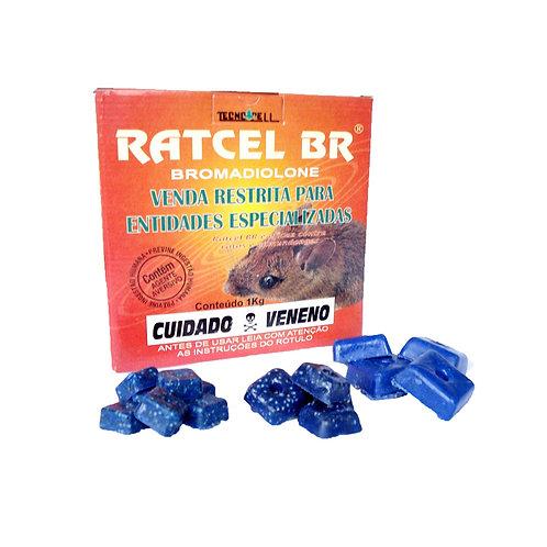 RATICIDA BLOCO PARAFINADO 50X20G
