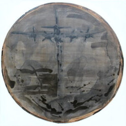 Painting.Arrival.of_.a.plane_.6