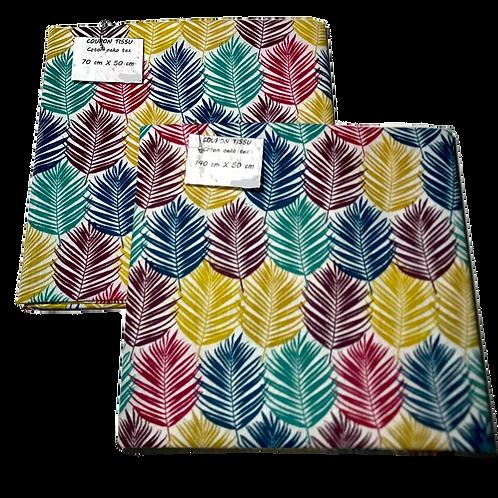Coupon tissu Guala Multicolore
