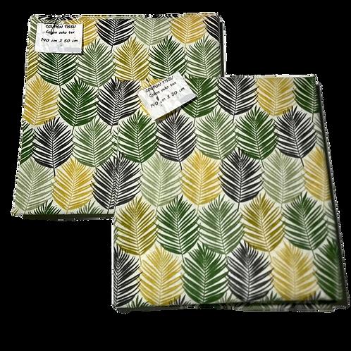 Coupon tissu Guala Vert