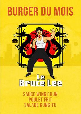 Le Bruce Lee Burger de Poulet 22