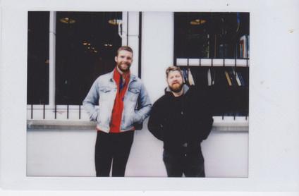 Charles and Evan