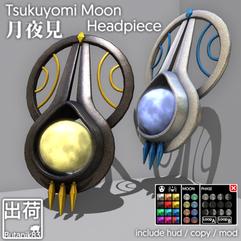 Butanik83 - Tsukuyomi Moon Headpiece AD