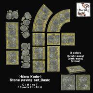 {-Maru Kado-} Stone paving set_Basic.png