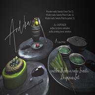 andika Modern wafu-Sweets Dispenser Set.