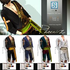 __..Silvery K..__Phoenix Kimono(male) co