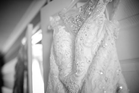 red hall hotel wedding dress