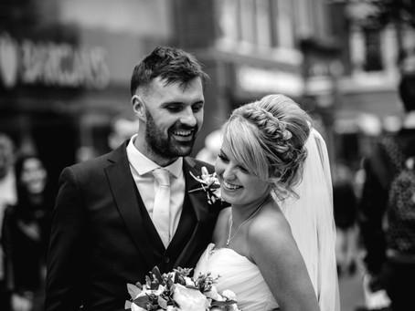 Manchester City centre wedding - Ainscow Hotel and The Rain bar