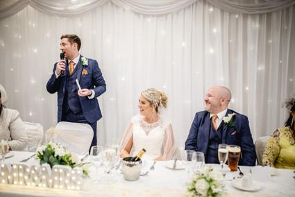 red hall hotel wedding speeches