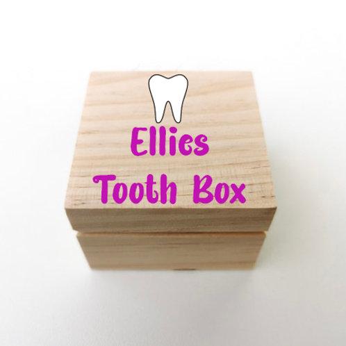 Kids Tooth Fairy keepsake box