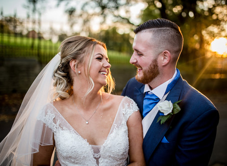 A lovely autumn wedding at Broadfield Park Hotel