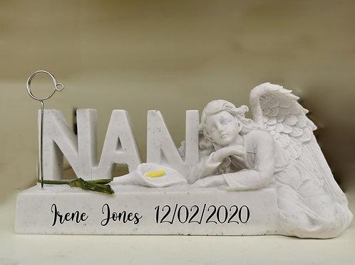 Personalised memorial photograph holder