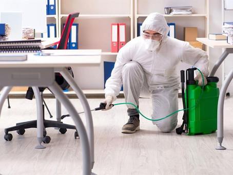 Chiamo un'impresa di pulizie... Ok, ma lavorano in sicurezza?