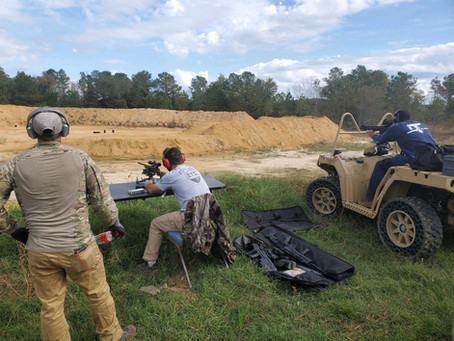 Range day at ETI!