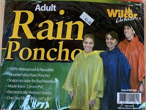 Adult Rain Ponchos