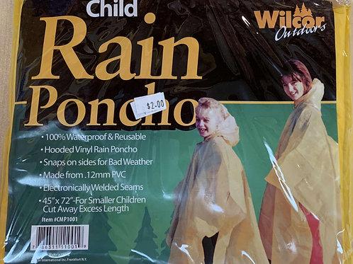 Children Rain Ponchos