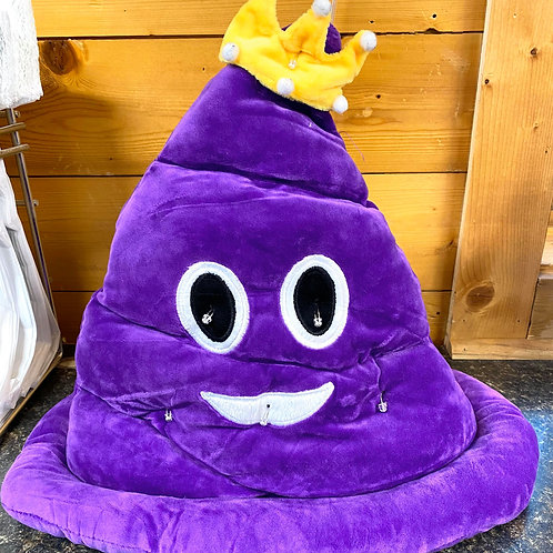 Light Up King Poop Hat