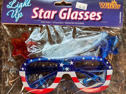 Light Up Star Glasses
