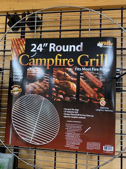"24"" Round Campfire Grill"