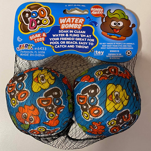 Poo Doo - Water Bombs 2pc