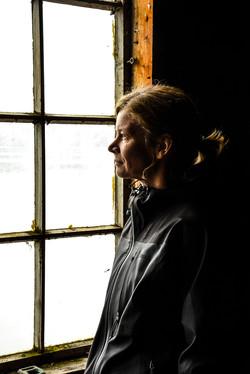 Alexandra in window