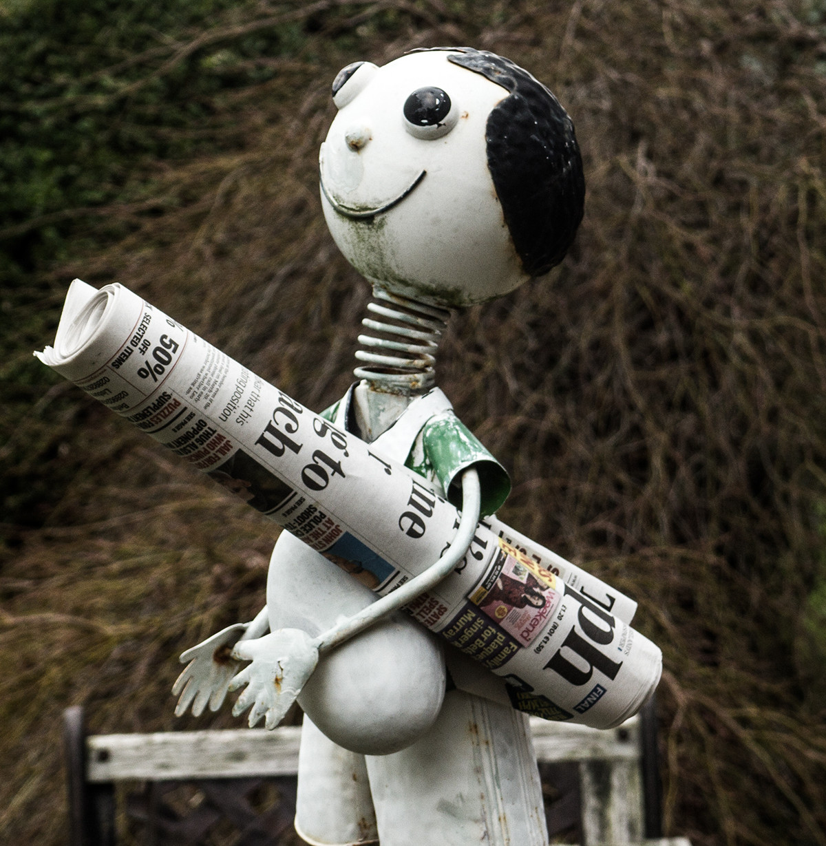 COLOUR - News Boy by Charlie Eastwood (5 marks)