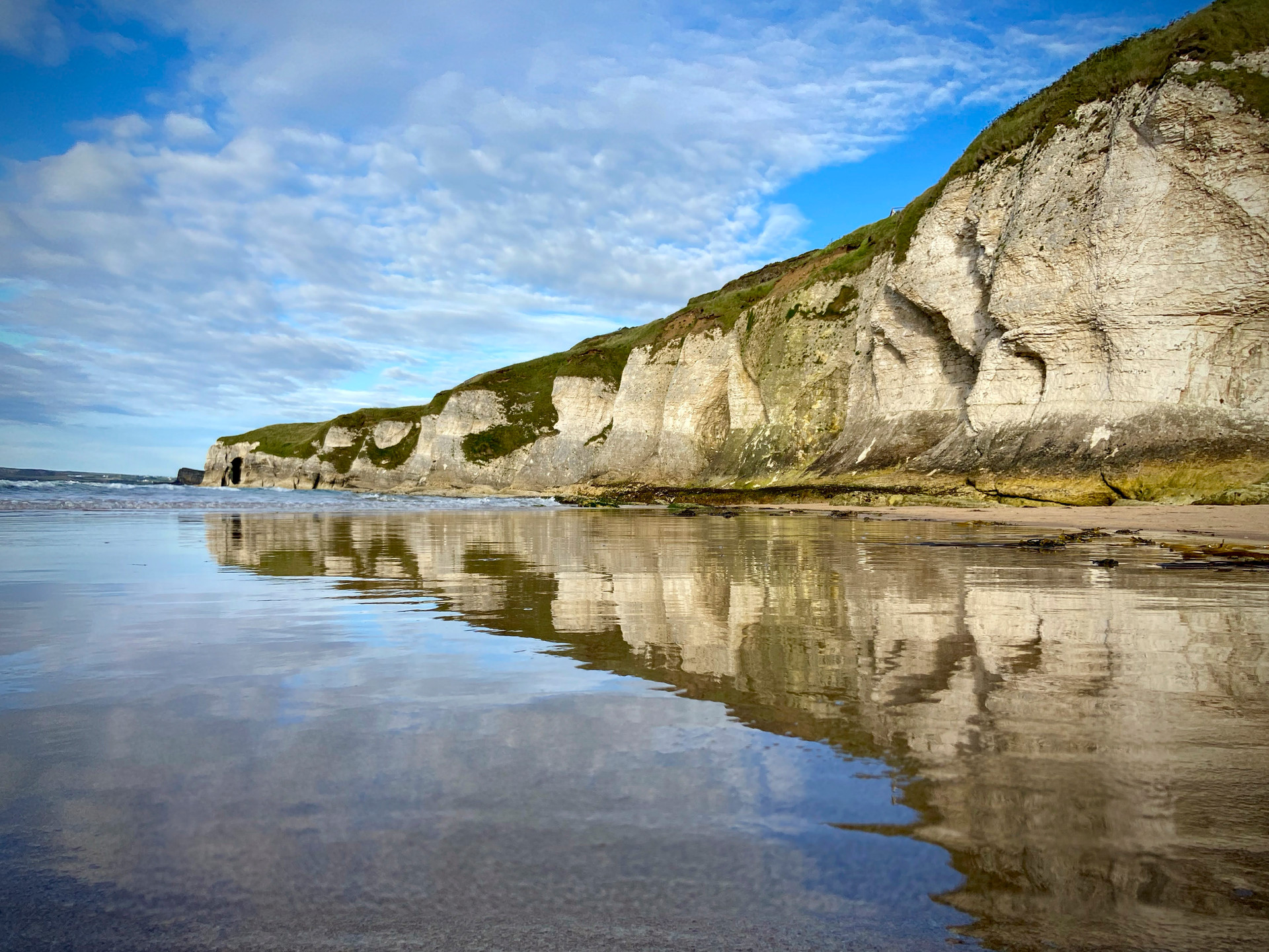 'Beach Refelections' by Paul Stewart (9 marks)  -  Dungannon - Cookstown Camera Club