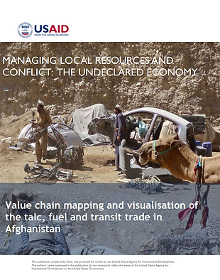Alcis Afghanistan value chain mapping