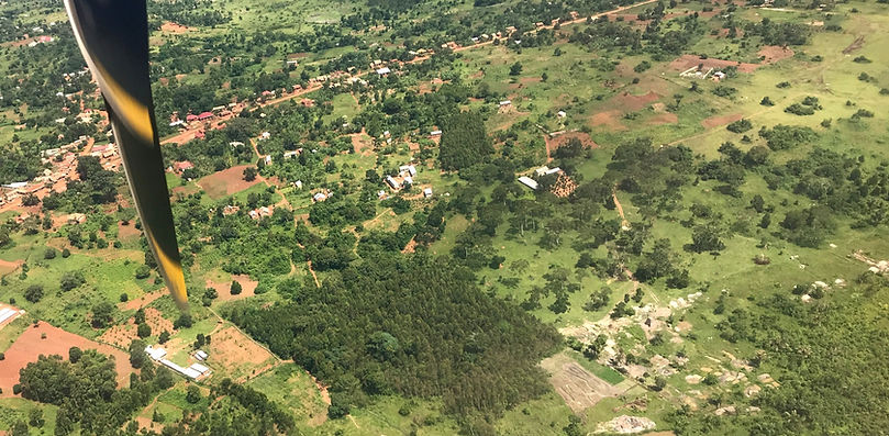 Alcis Africa from the sky