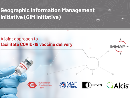 Cross-Sector Geographic Information Management Partnership to support COVID-19