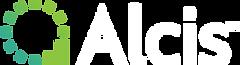 Alcis Logo_TM white text on transparent