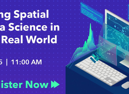 Using Spatial Data Science in the Real World