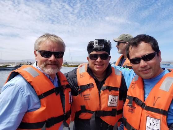 Dr Ilia, Luis & Carlos in Peru