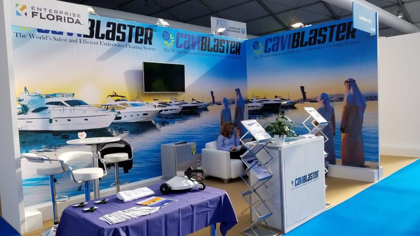 CaviDyne LLC in Dubai Boat Show