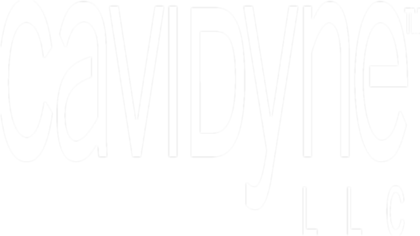 Cavidyne LLC The Safest Underwater Cleaning System Logo