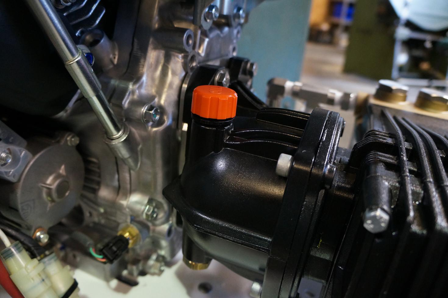 Reductor del Motor