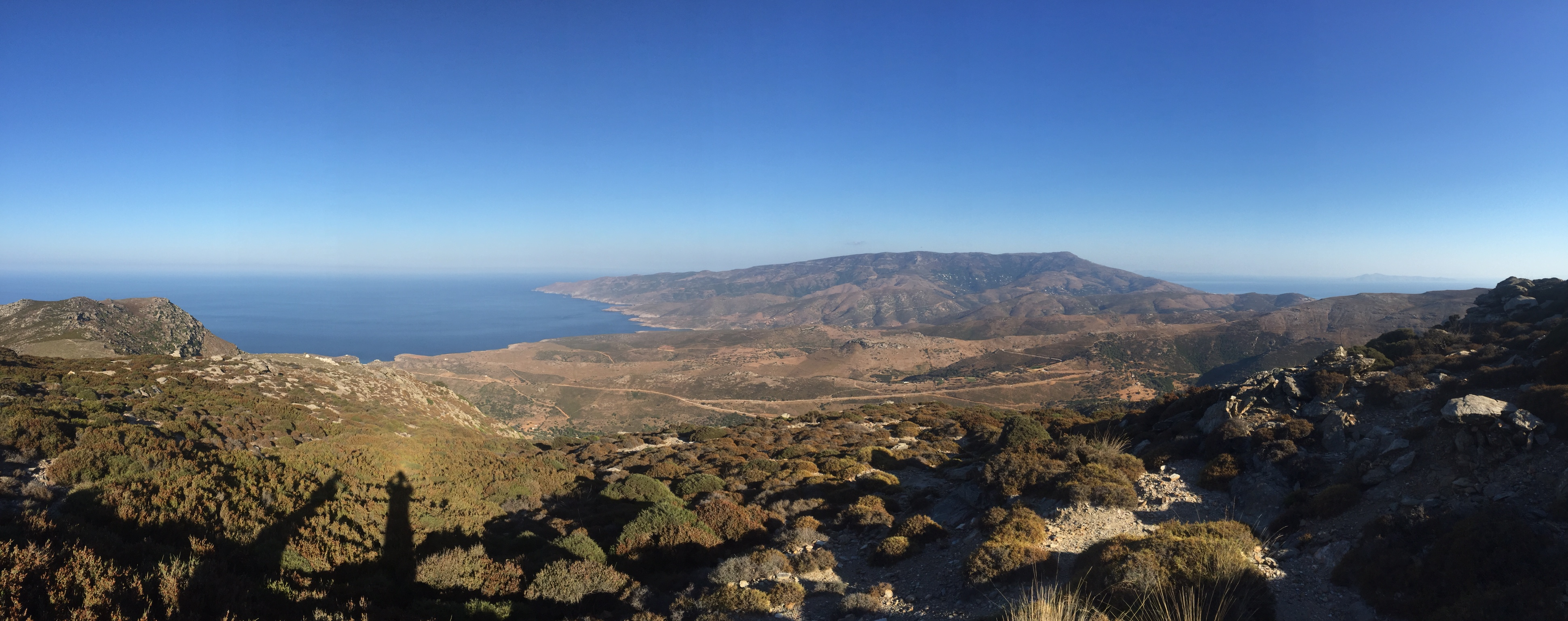 View from the NE part of Andros
