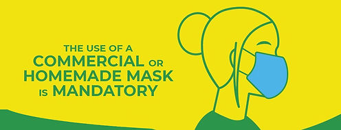 commercial, homemade mask, covid, use, supermarjket