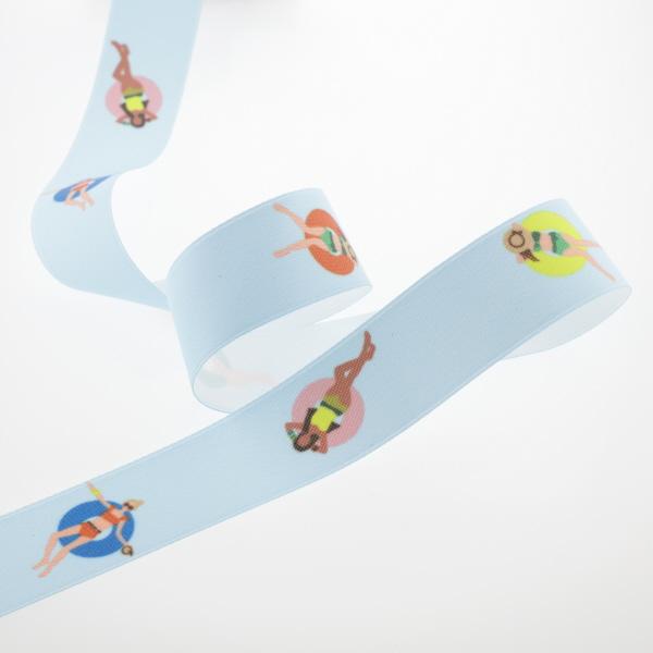 Pattern design for ribbon