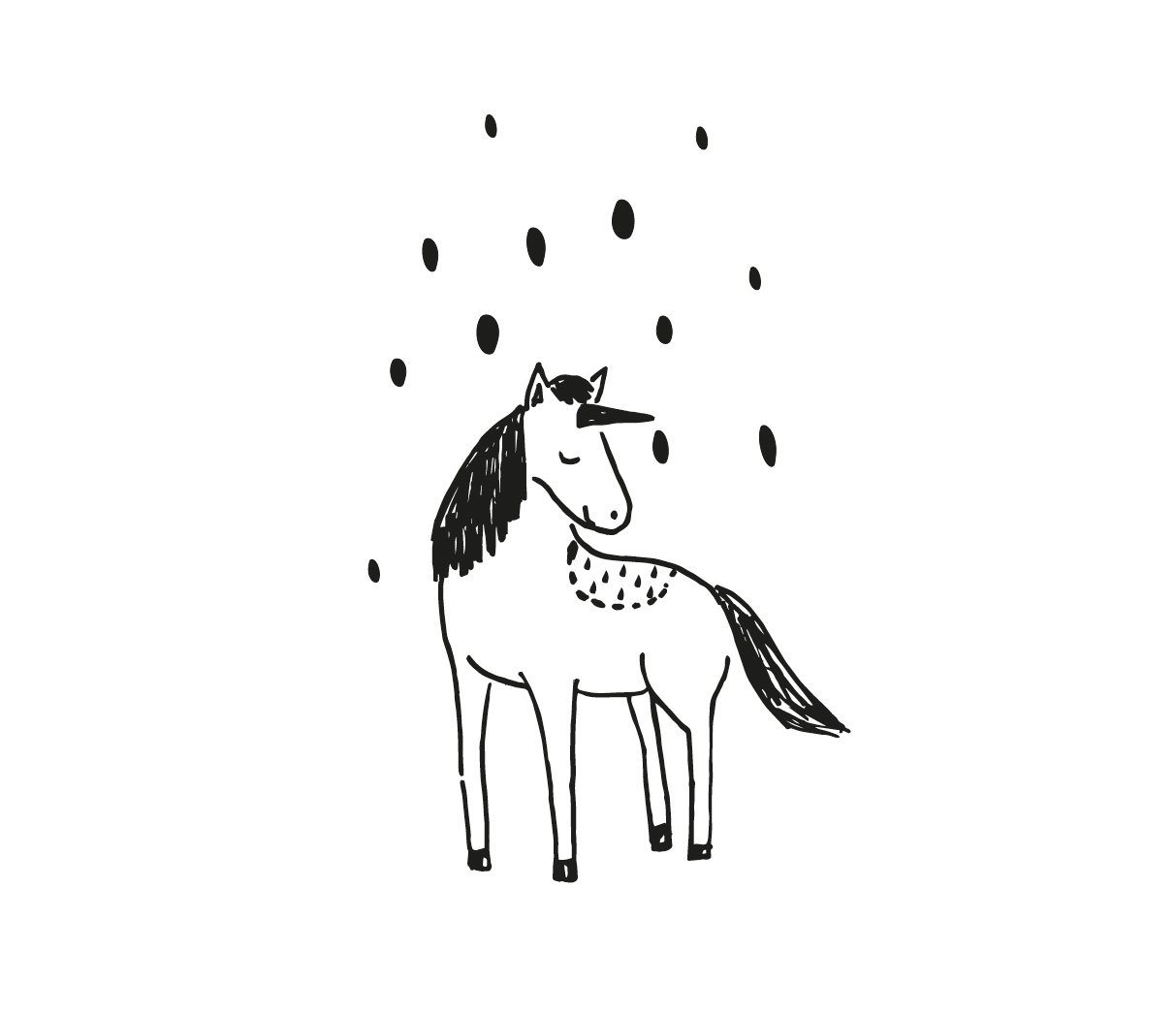 illustration Unicorn