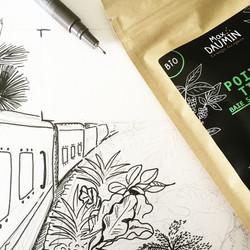 Illustration for packaging