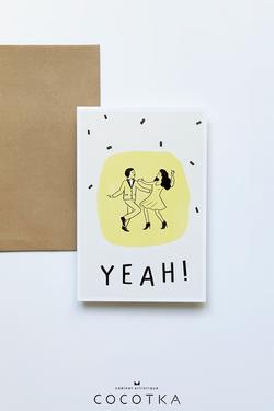 Carte postale Yeah!