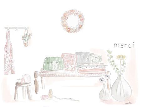 My Illustration for Maison Margaret